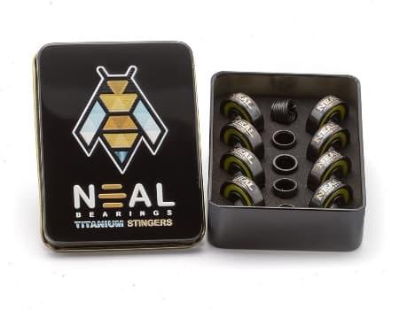Neal Precision Skate Bearings