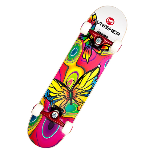 Punisher Skateboard Butterfly Jive with Canadian Maple