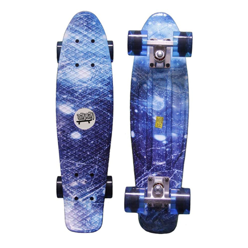 DINBIN Complete High Flexible Plastic Cruiser Board Best Skateboards for Girls