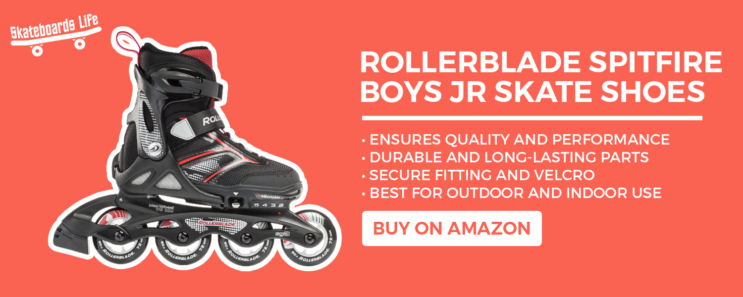 Rollerblade Spitfire Boys JR Skate Shoes
