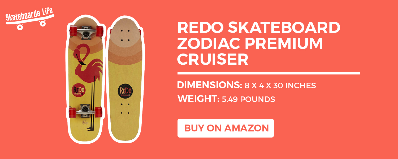 Redo Skateboard Zodiac Premium Cruiser