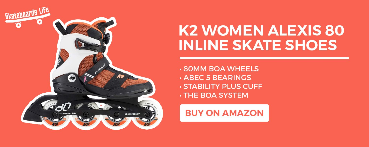 K2 Women Alexis 80 Inline Skate Shoes
