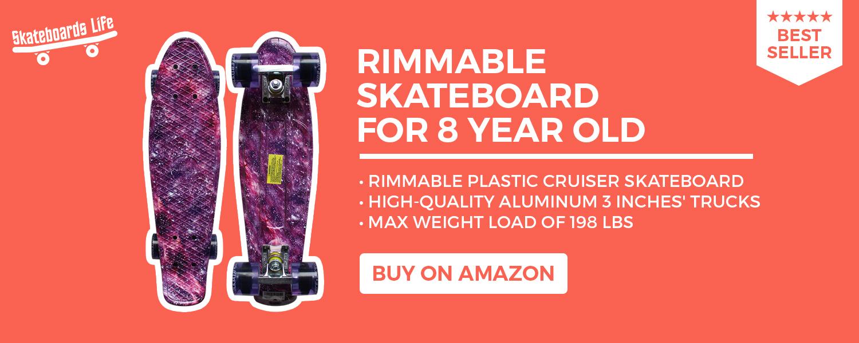 Rimmable Skateboard