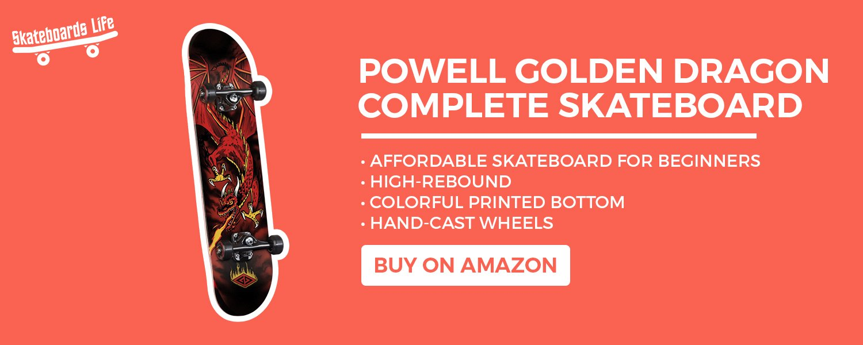 Powell Golden Dragon Complete Skateboard