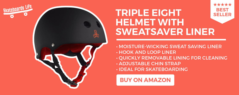 Triple Eight Helmet