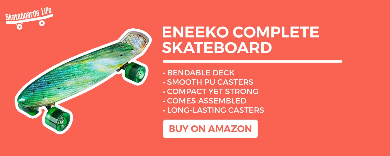 ENEEKO Complete Skateboard for kids