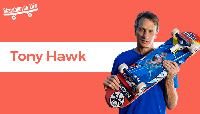 Tony Hawk Best Skateboarder of all time