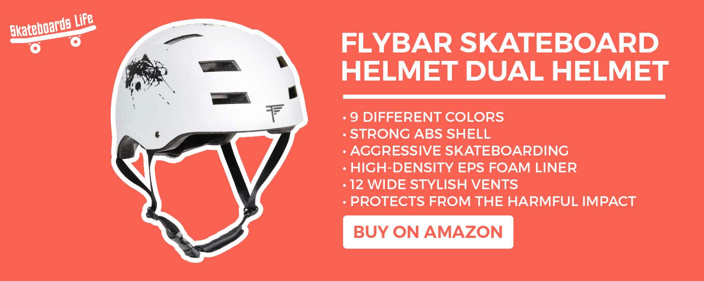 Flybar Skateboard Helmet Dual Helmet