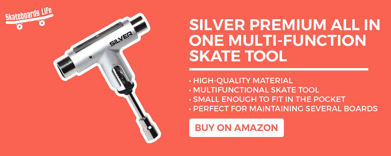 Silver Premium Skate Tool