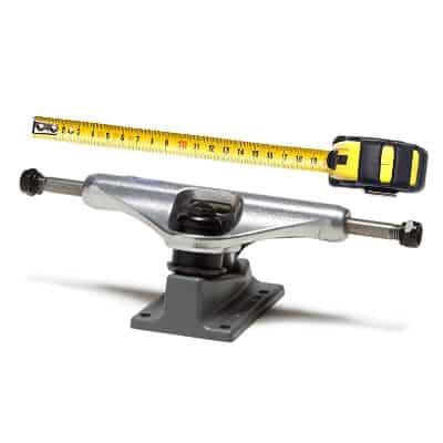 Measuring the skateboard truck