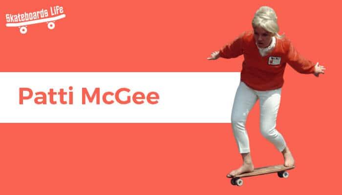 Patti McGee Skateboarder