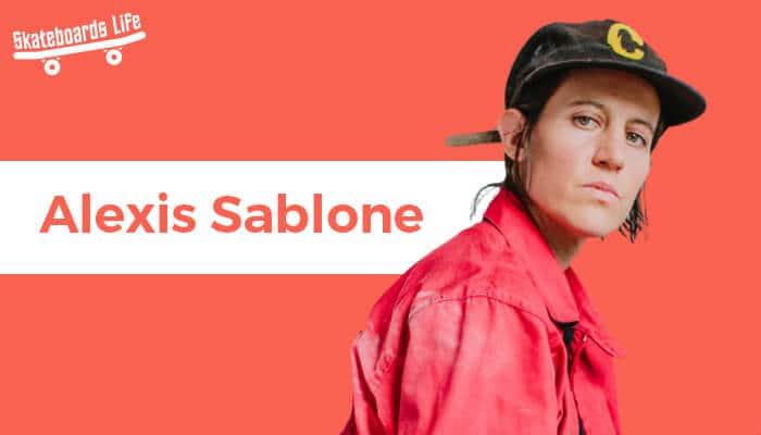 Alexis Sablone Skateboarder