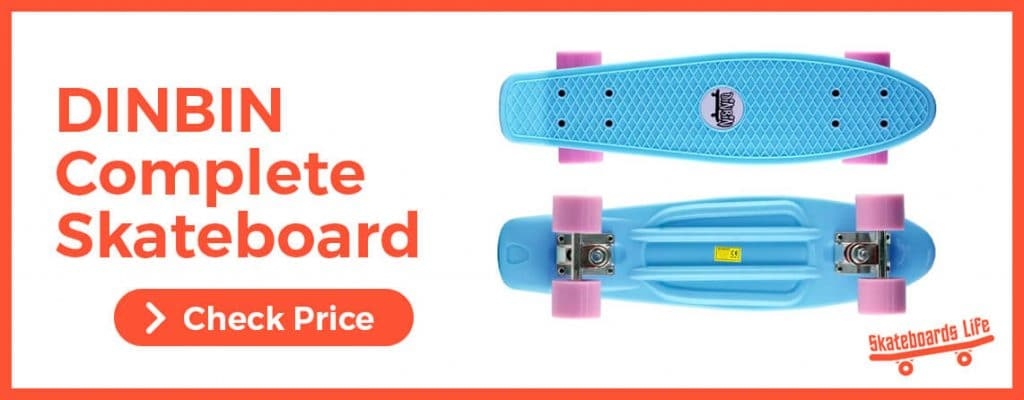DINBIN Complete Skateboard for Beginners