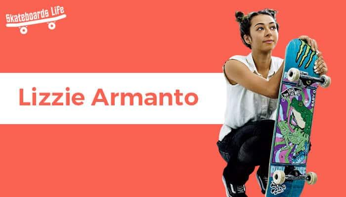 Lizzie Armanto Best Female Skateboarder