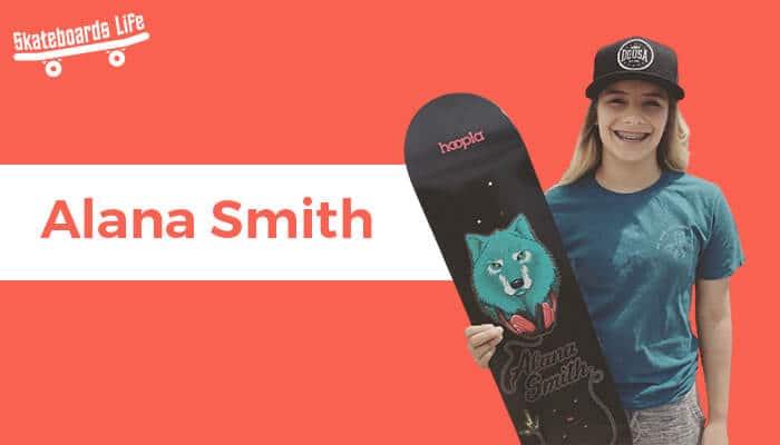 Alana Smith Skater