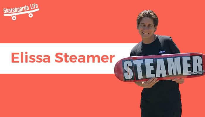 Elissa Steamer Female Skateboarder