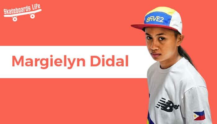 Margielyn Didal Skateboarder