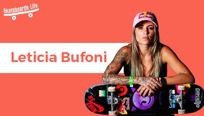 Leticia Bufoni Skateboarder