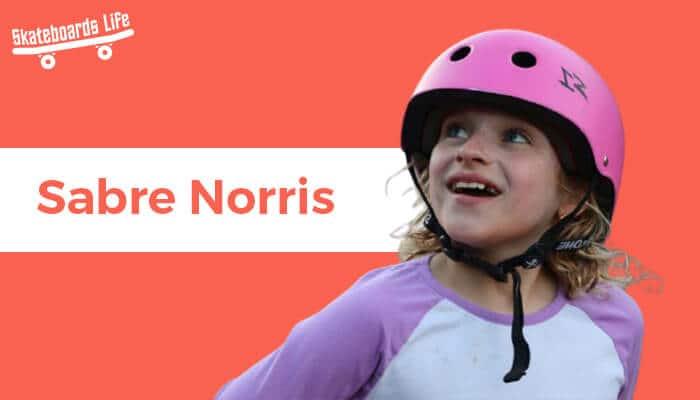 Sabre Norris Best Female Skater