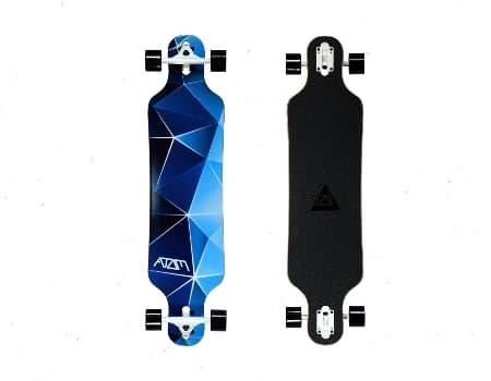 Atom Drop Through Skateboard Longboard