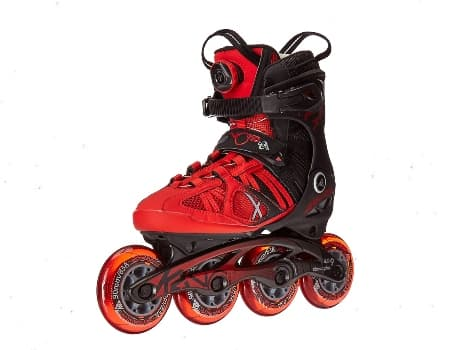 K2 Mens Vo2 90 Boa Red Inline Shoes