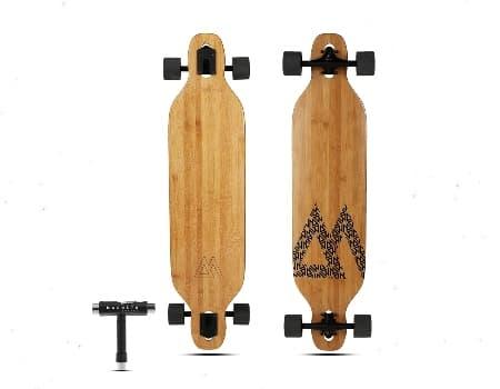 Magneto Bamboo Skateboard