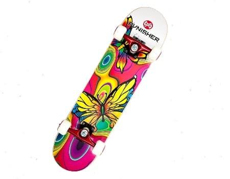 Punisher Skateboard Butterfly
