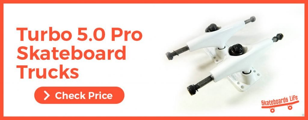 Turbo 5.0 Pro Skateboard Trucks