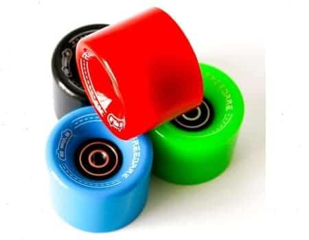 FREEDARE Skateboard Cruiser Wheels 60mm 83a