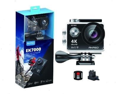 AKASO EK7000 Sports Action Camera For Skateboarding