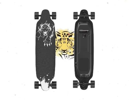 Electric Skateboard, 400W Brushless Motor Electric Skateboard with Remote