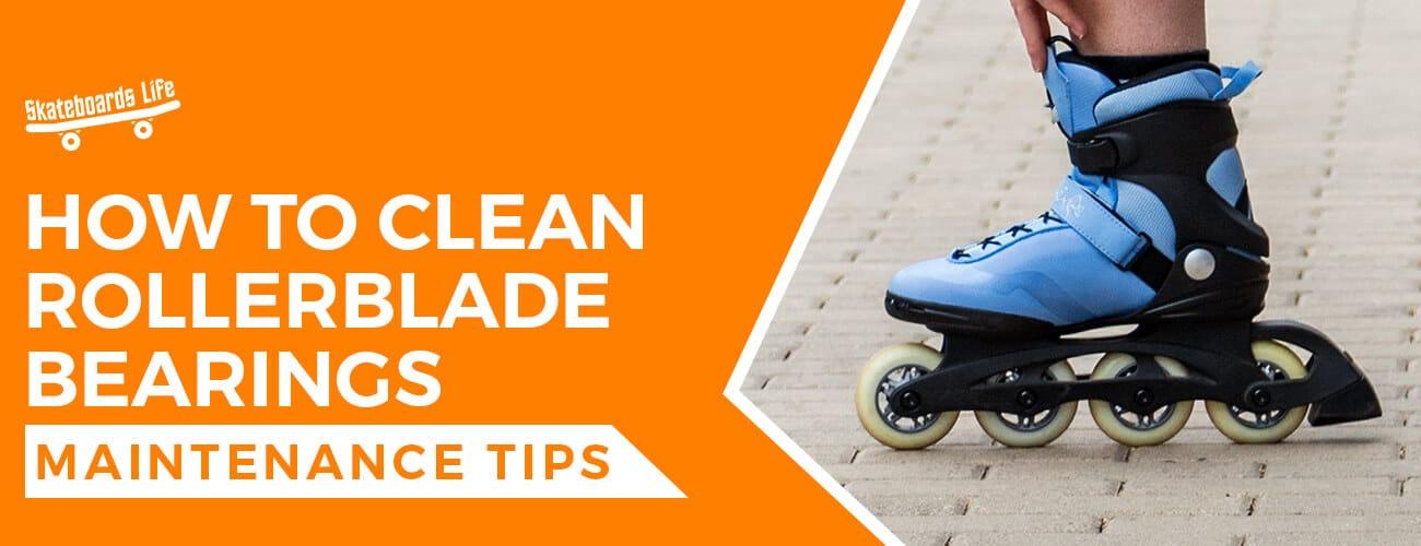 How to clean rollerblade bearings