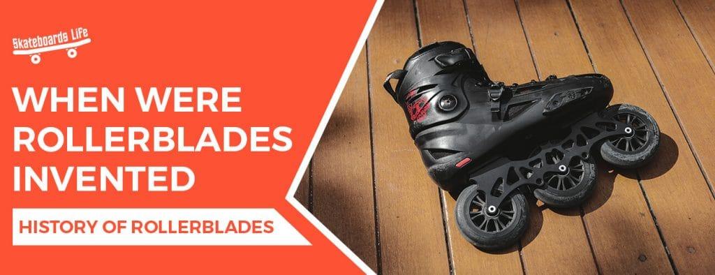 When Were Rollerblades Invented