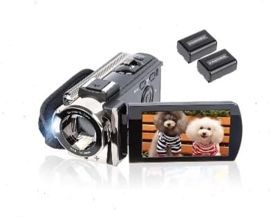 Kicteck Full HD Camcorder