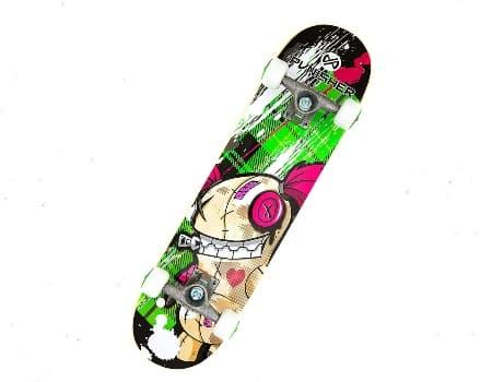 Punisher Skateboards Jinx Complete Cruiser Skateboard