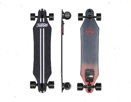 Teamgee H5 37 Electric Skateboard, 22 MPH Top Speed, 760W Dual Motor