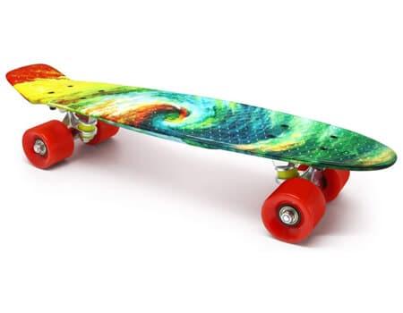 M Merkapa Complete 22 inch Cruiser Skateboard