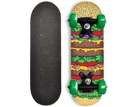 Rude Boyz 17 Inch Mini Wooden Cruiser Dogs Skateboard