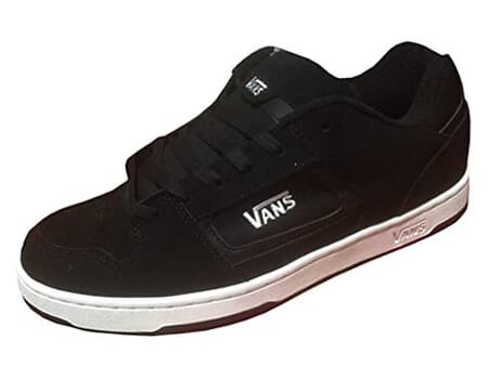 Vans Men Docket Skate Suede Leather Logo Shoes